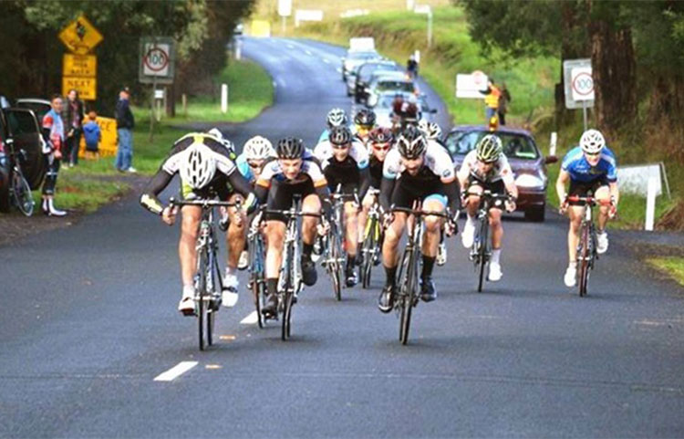 Harcourt hosts world class cycling events