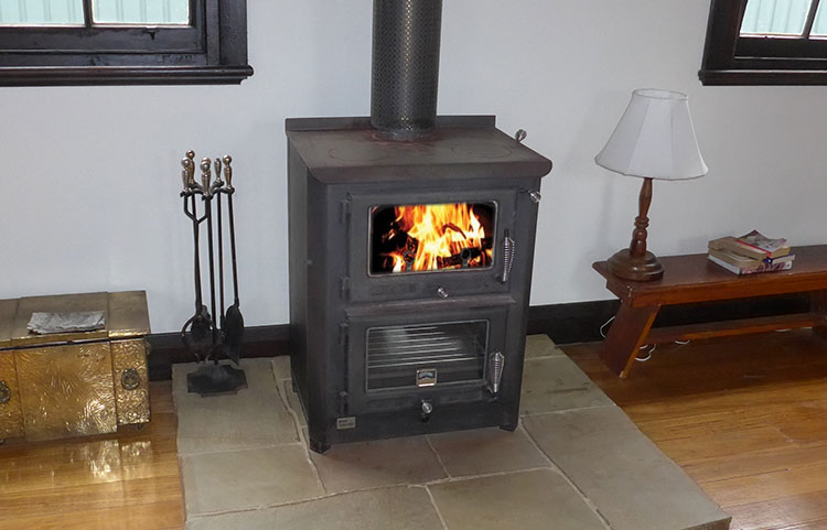 Cosy wood heating - wood supplied